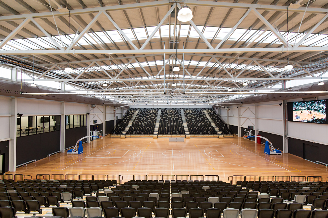 Slam Dunk For Indoor Sports Stadium